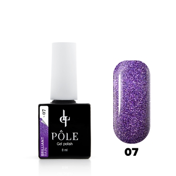 "Гель-лак POLE Brilliant rain №07  ""Violet"" (8 мл)"